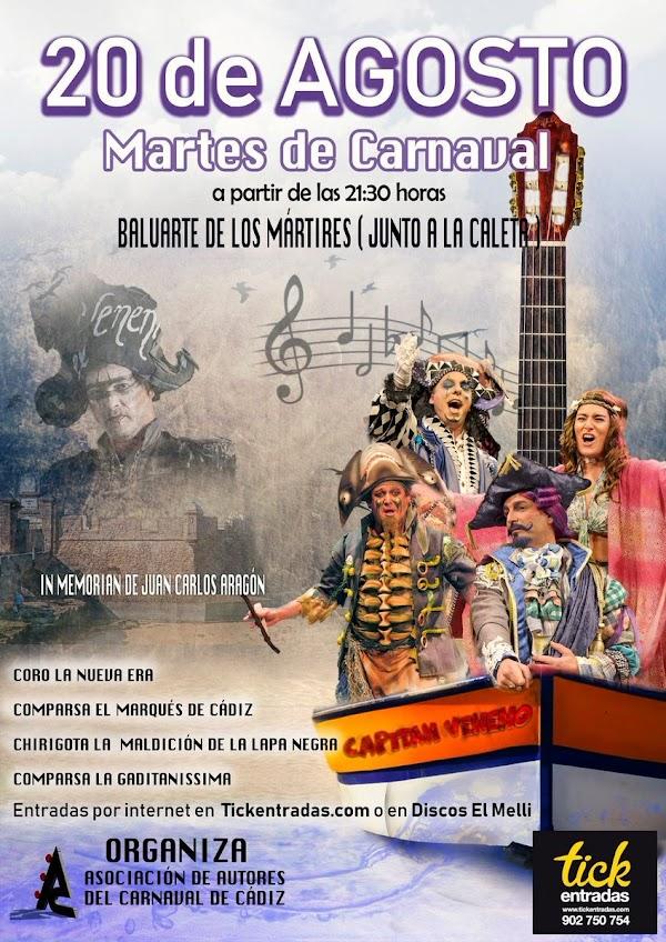 Martes de Carnaval en el Baluarte de los Mártires