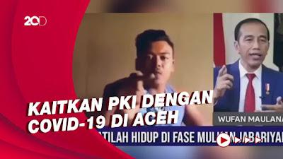 Viral Video Pria di Malaysia Caci Maki Jokowi, Kini Diburu Mabes Polri