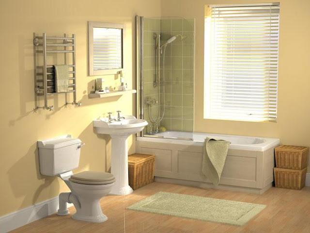 Tips Mudah Bersihkan Bilik Mandi Dan Tandas