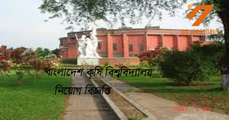 Bangladesh Agriculture University(BAU) Job Circular-2019