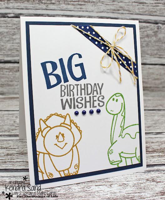 Luv 2 Scrap N' Make Cards: BIG Birthday Wishes