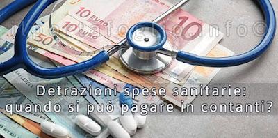 detrazioni spese sanitarie