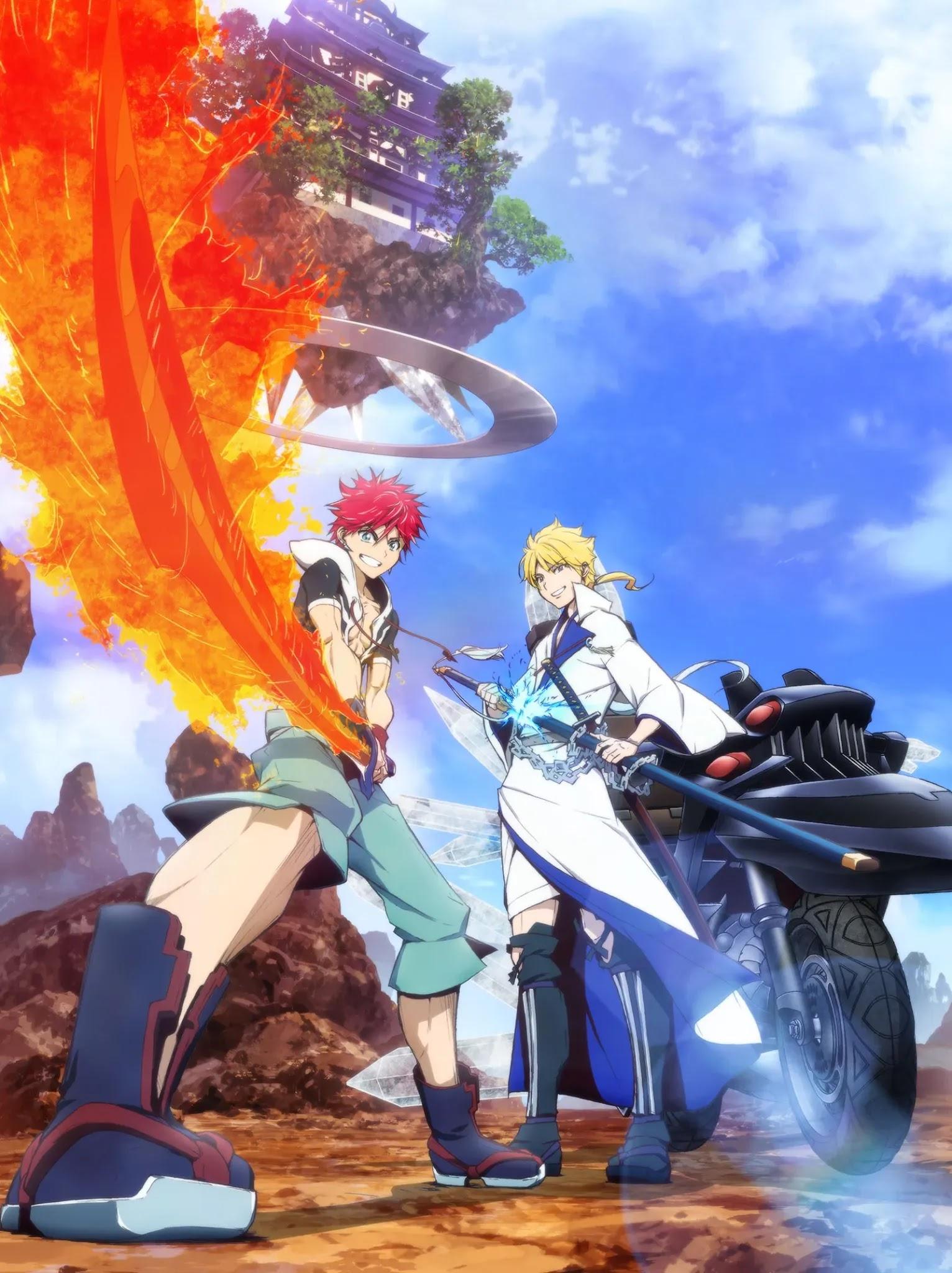 Novo trailer do Anime Orient é protagonizado por Musashi e Kojirou