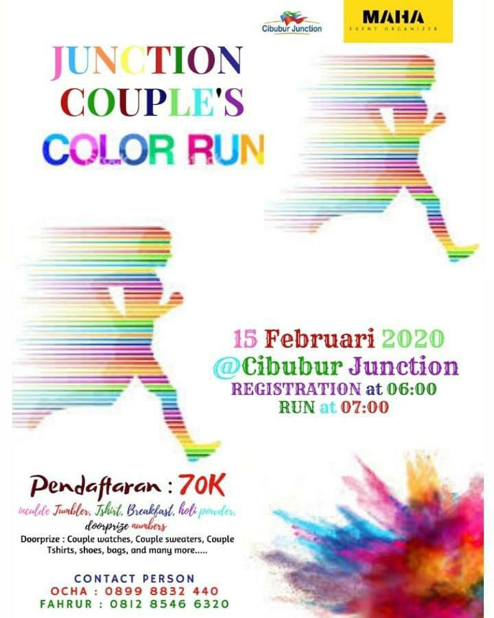 Junction Couple's Color Run • 2020