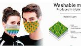 Gepersonaliseerde mondmaskers wordt het nieuwe straatbeeld