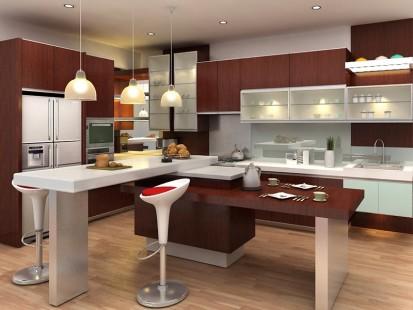 Desain Kitchen Set Modern Terbaru Kumpulan Model Rumah Minimalis