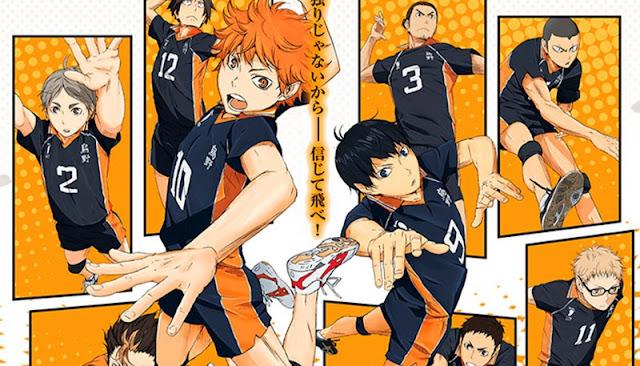 Haikyu!! tendrá dos nuevas OVAS que animarán los Clasificatorios de Tokyo