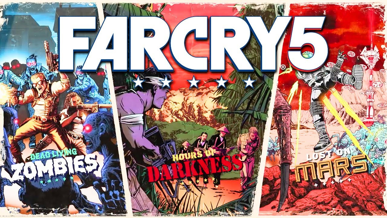 Far Cry 5 Gold Edition V1 011 + 5 DLCs [FitGirl Repack] Hack Offline