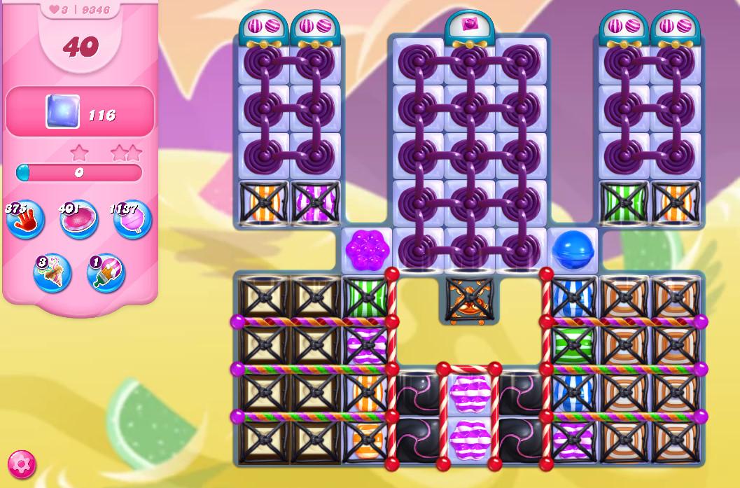 Candy Crush Saga level 9346