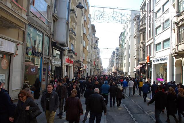 Истикляль, Стамбул, Турция.