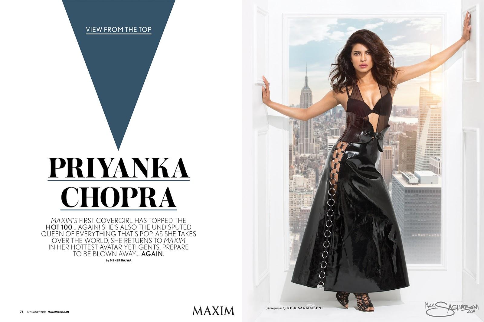 priyanka chopra maxim - photo #23