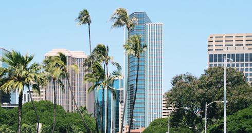 Downtown Honolulu Hawaii