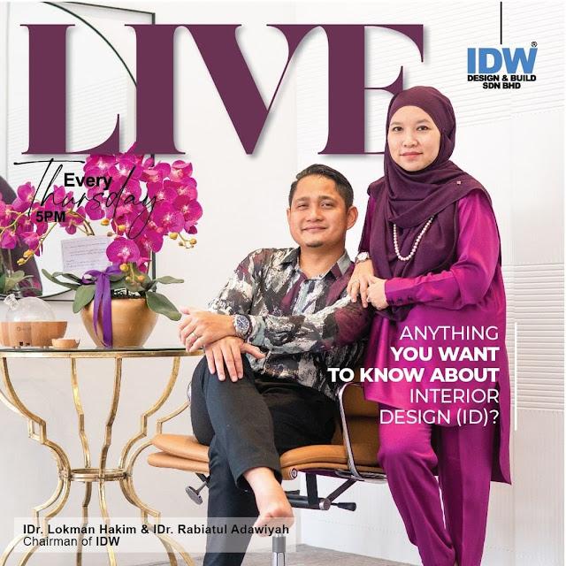 IDW DESIGN Founder Lokman Hakim and Rabiatul Adawiyah
