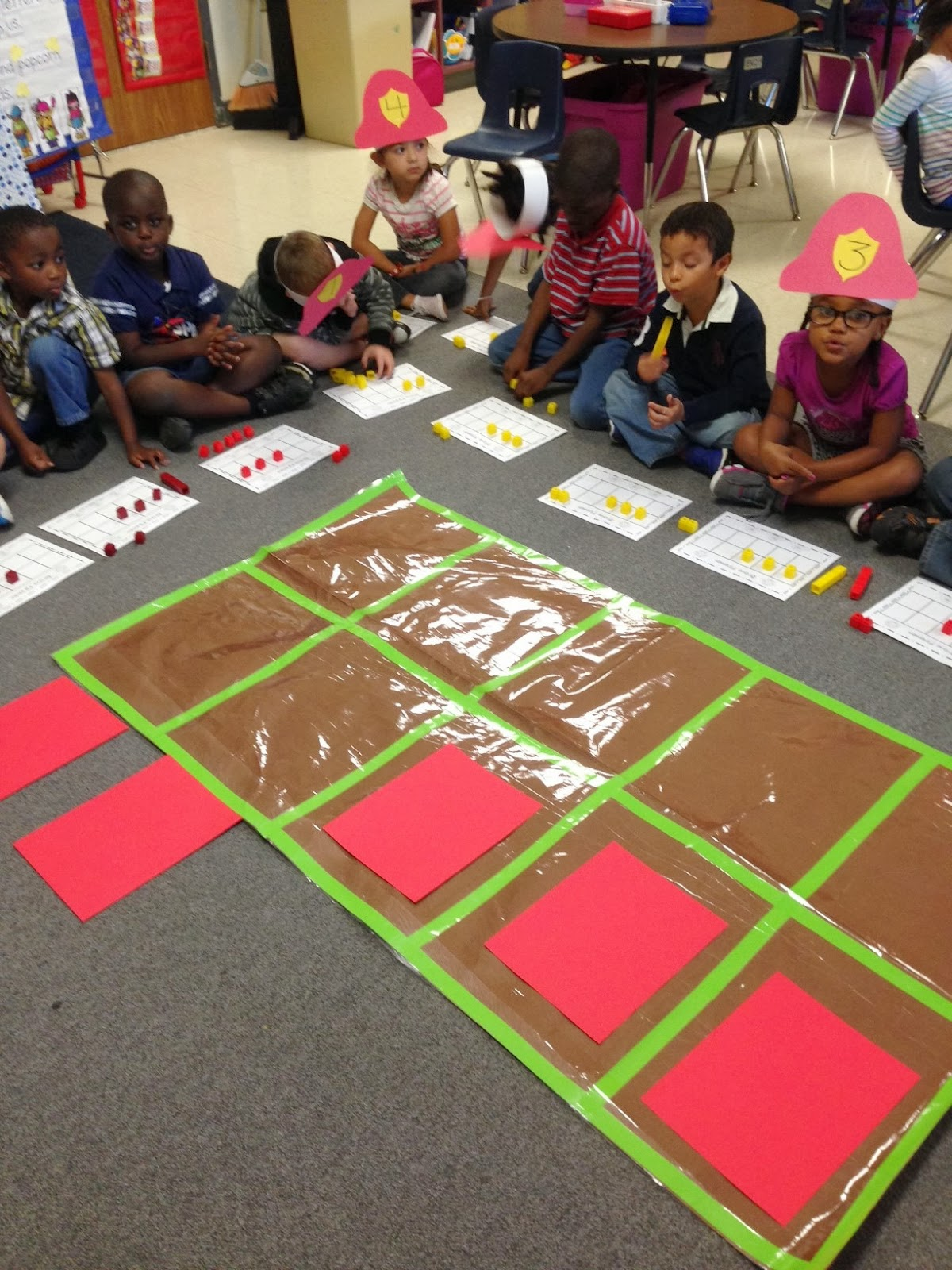 Chalk Talk A Kindergarten Blog Firefighter Math Activities
