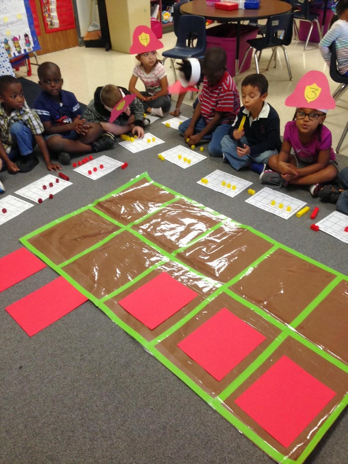 Kinder Garden: Chalk Talk: A Kindergarten Blog: Firefighter Math Activities