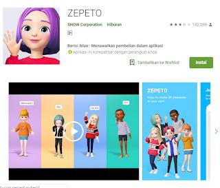 Mudahnya Cara Mengatasi Aplikasi Zepeto Yang Tidak Bisa Di Buka !
