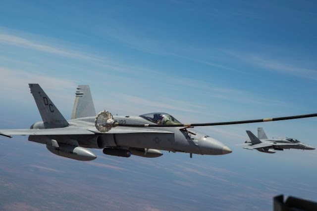 #Disaster :One person was rescued  but 6 US Marines missing after two jets 'crash in mid-air during refuelling off Japan