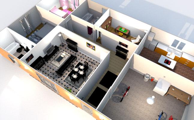 تحميل برنامج تصميم المنازل 3d ثلاثى الابعاد عربى 2017 Sweet