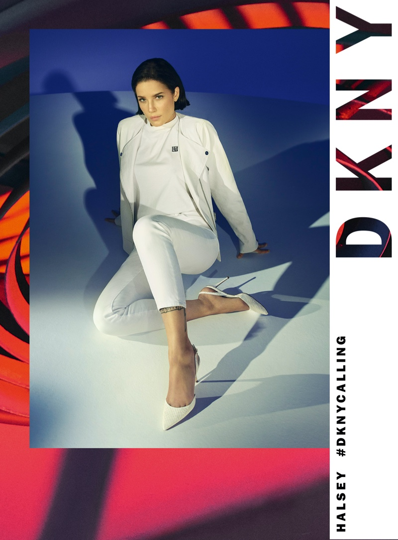 Singer Halsey fronts DKNY spring-summer 2020 campaign