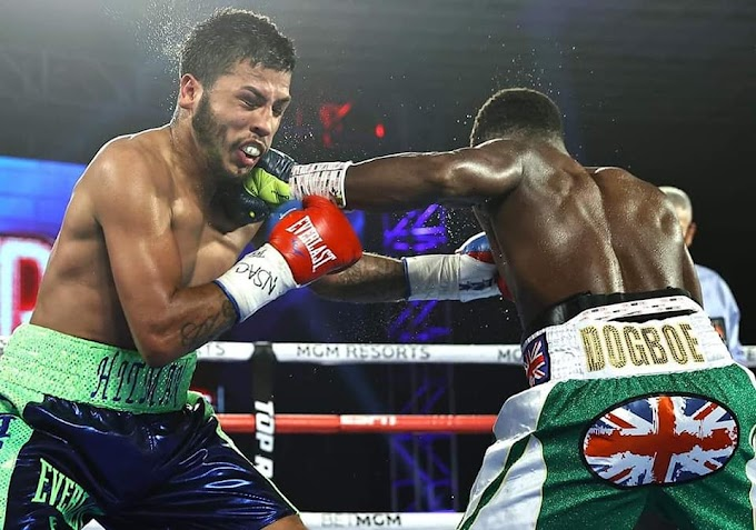 Isaac Dogboe: Former world champion dominates and stops Chris Avalos