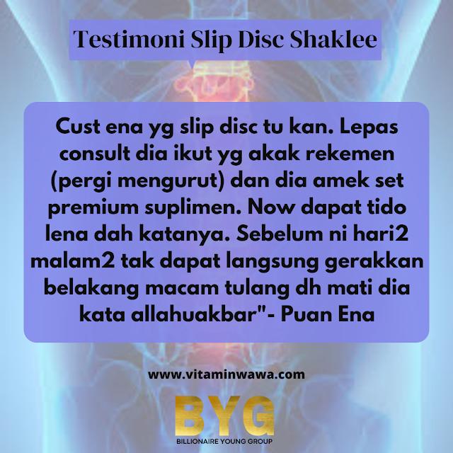 rawat slip disc dengan Shaklee, bolehkah pesakit slip disc sembuh, cara makan vivix untuk slip disc, suplemen untuk slip disc, tilam untuk pesakit slip disc, senaman untuk slip disc,bolehkah pesakit slip disc sembuh,   suplemen untuk slip disc,   senaman untuk slip disc,   vivix shaklee,   suplemen untuk sakit tulang belakang,   ostematrix untuk sakit pinggang,   vitamin untuk sakit pinggang,   susu untuk tulang belakang,  rawatan slip disc, slip disc boleh sembuh, tanda tanda slip disc, simptom slip disc l5 s1, senaman slip disc pinggang, slip disc treatment, slip disc boleh lumpuh, slip disc in malay, bolehkah pesakit slip disc sembuh, cara makan vivix untuk slip disc, rawat slip disc dengan Shaklee, tilam untuk pesakit slip disc, suplemen untuk slip disc, senaman untuk slip disc, produk shaklee untuk sakit belakang, vivix Shaklee, cara makan vivix untuk slip disc, vivix shaklee untuk slip disc, bolehkah pesakit slip disc sembuh, cara makan vivix untuk slip disc, suplemen untuk slip disc, tilam untuk pesakit slip disc, senaman untuk slip disc, rawat slip disc dengan Shaklee, vivix Shaklee, blog pesakit slip disc, Simptom cakera serviks atau leher: Mati rasa, kesemutan, atau kelemahan di bahu, leher, lengan, atau tangan anda Kesakitan yang dialami di bahu, leher, lengan, atau tangan anda Kelemahan otot Biasanya, gejala meningkat dengan pergerakan Sakit pada satu bahagian badan anda Sakit scatic atau akar saraf Kesakitan semakin teruk pada waktu malam Gejala cakera tergelincir belakang atau belakang:  Sakit yang dialami di punggung, kaki, atau lutut anda Mati rasa, kesemutan, atau kelemahan pada punggung, punggung, kaki, atau kaki anda Masalah mengawal pergerakan usus atau pundi kencing anda Kelemahan otot Sakit pada satu bahagian badan anda Sakit scatic atau akar saraf Biasanya, gejala meningkat dengan pergerakan seperti batuk Kesakitan semakin teruk pada waktu malam
