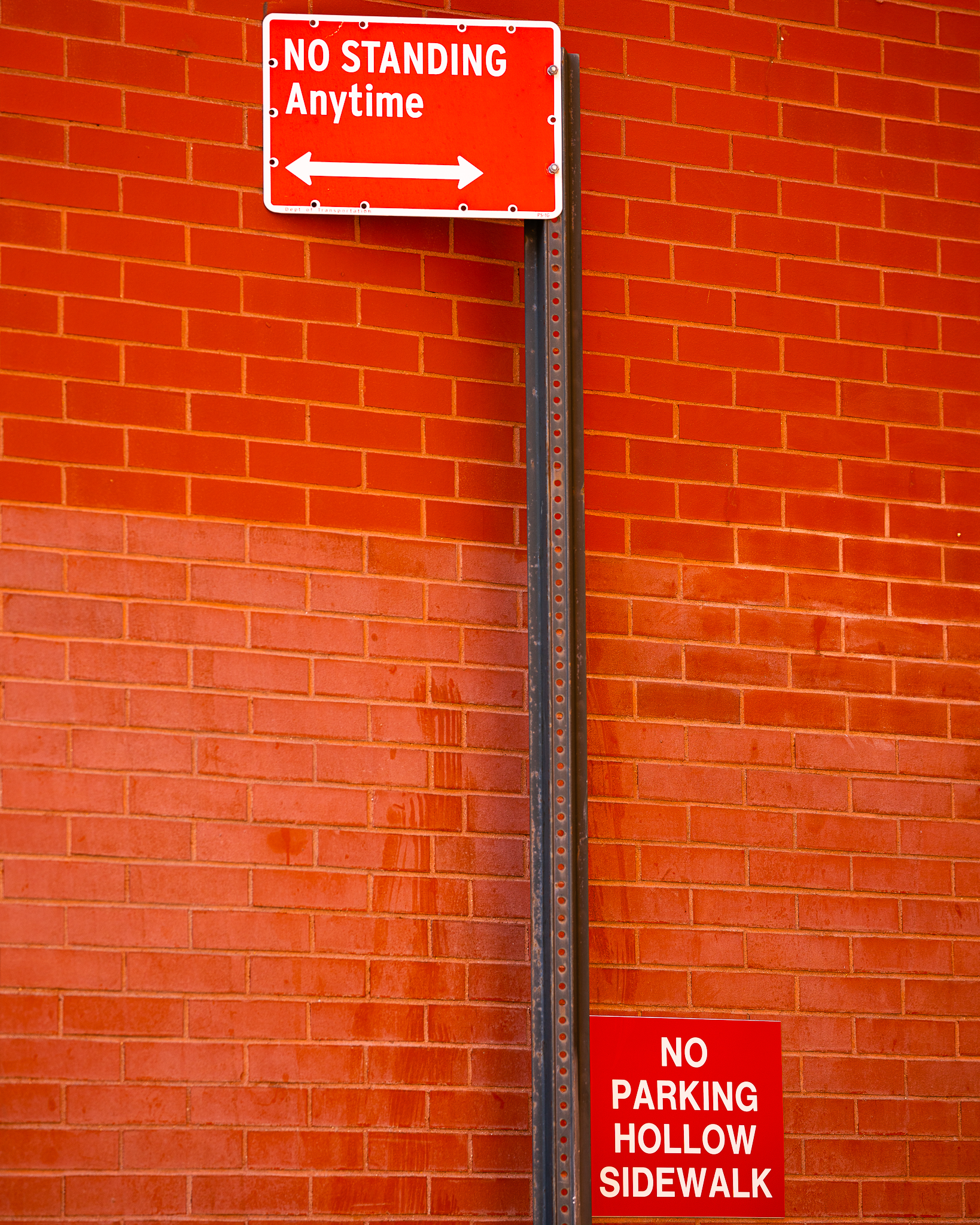 a photo of street signs in tribeca new york