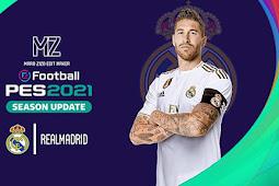Real Madrid Graphic Menu PES 2021 For - PES 2017