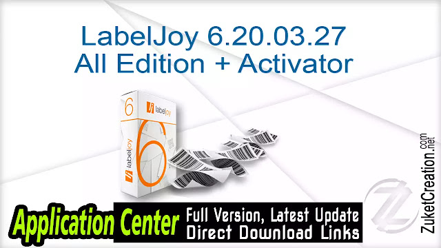 LabelJoy 6.20.03.27 All Edition + Activator