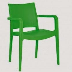 Μοντέρνα πλαστική καρέκλα