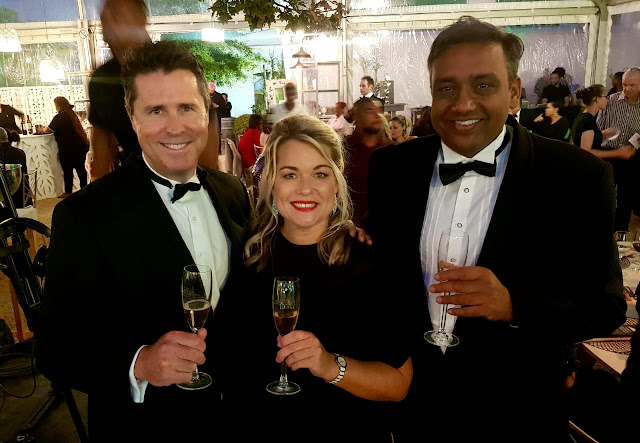 TOPS at SPAR Wine Show team - Andrew Douglas, Debbie Combrink and Shon Kumar