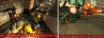 Game Iron Man Iron Avenger – War Road Free