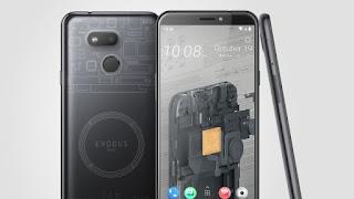 HTC تطلق هاتف exodus 1s يمكنه تشغيل عقدة بيتكوين كاملة