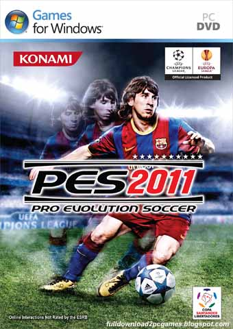 pes 2011 free download full version for pc