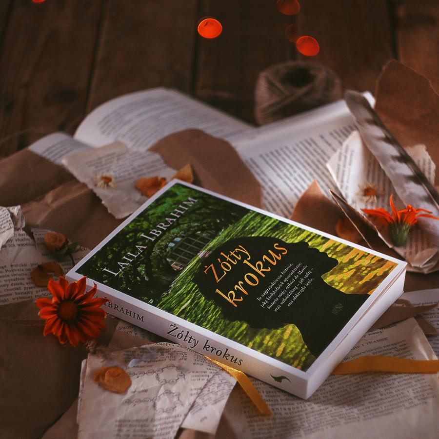 #115 Żółty krokus - Laila Ibrahim - recenzja - czy warto przeczytać?