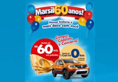 Cadastrar Promoção Marsil 60 Anos Atacadista