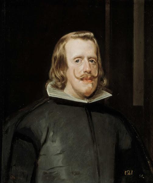 Диего Веласкес - Портрет Филиппа IV в охотничьем костюме (ок.1653)