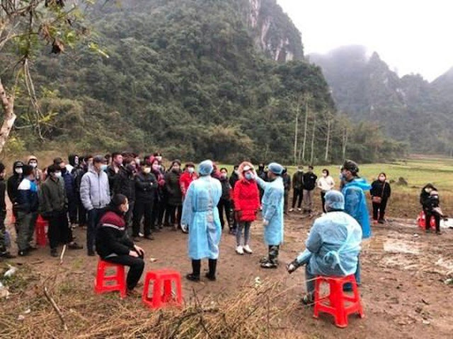 Nhiều lao động từ Trung Quốc về nhập cảnh 'chui' vì sợ bị cách ly 14 ngày