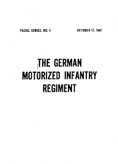 The German Motorised Infantry Regiment