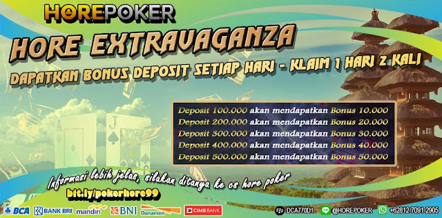 QQHore Baccarat Deposit Via Pulsa Bonus Deposit Harian 50.000
