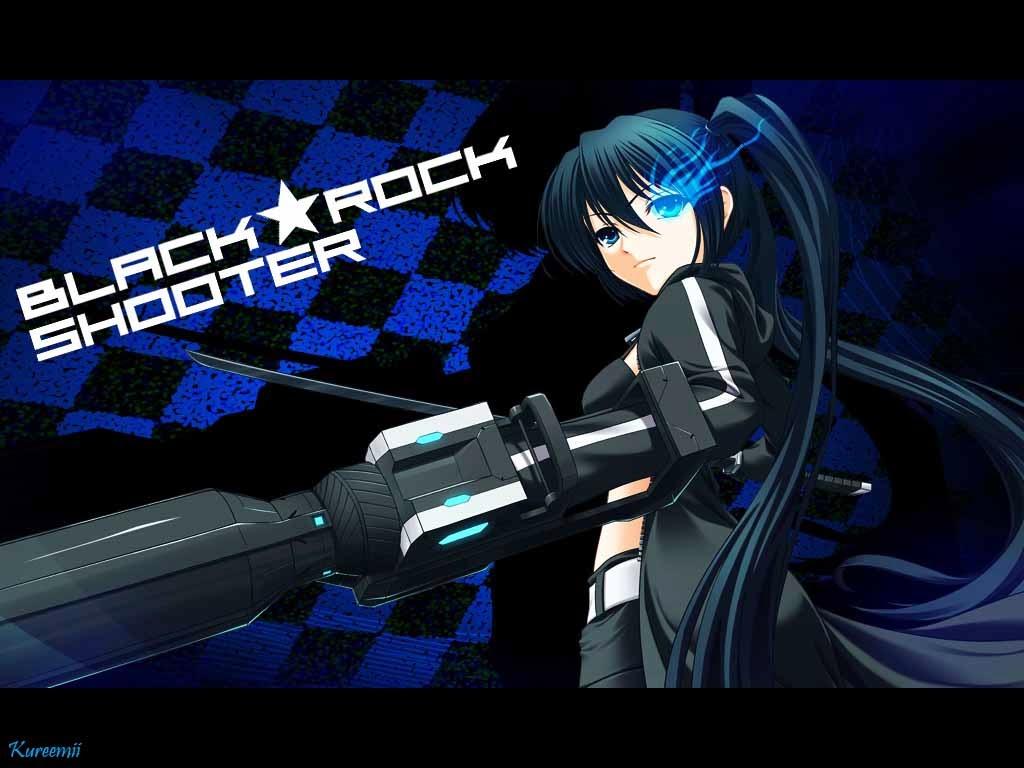Hd Wallpapers Blog: Black Rock Shooter Wallpapers