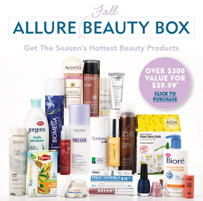 Allure Beauty Box Fall 2012