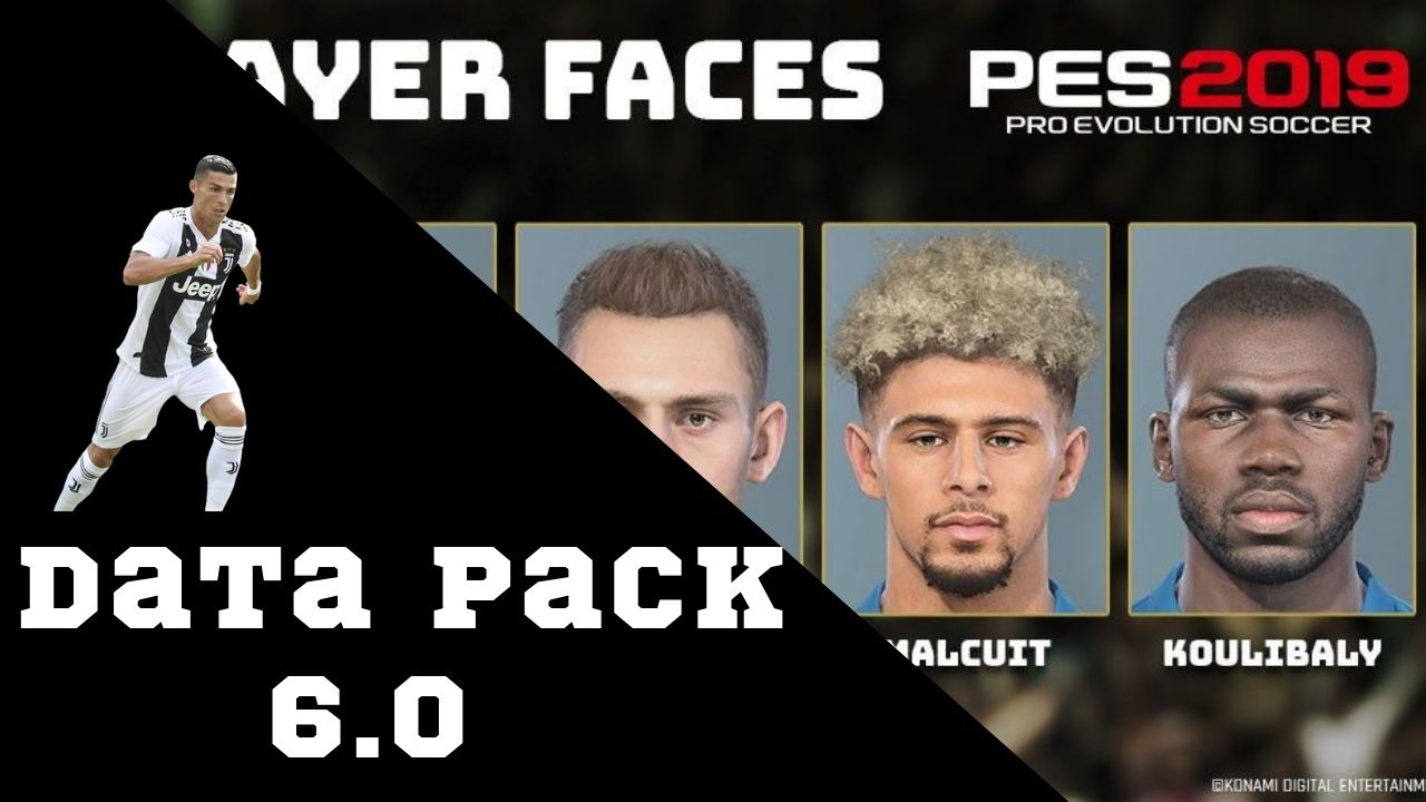 Data Pack V6 0 | AIO | PES2019 | PC | Released | Pes Free Downloads