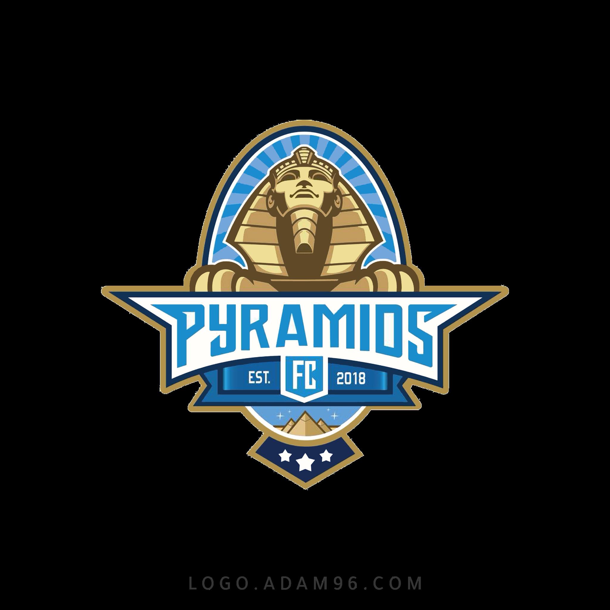 تحميل شعار بيراميدز لوجو نادي الأهرام سبورت بصيغة شفافة PNG
