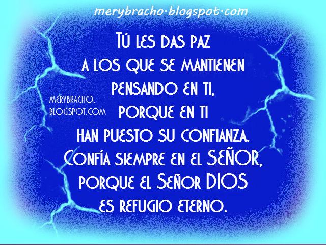 Frases De Paz P 2: Mensaje Cristiano Dios Te Da Paz