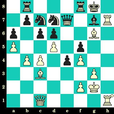 Les Blancs jouent et matent en 2 coups - Nona Gaprindashvili vs Eliska Richtrova, Wuppertal, 1990