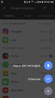 Cara menghapus aplikasi bawaan di smartphone root via ccleaner