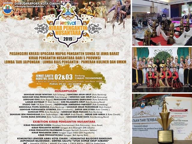 Inilah Para Juara Pasanggiri Kreasi Upacara Mapag Panganten Sunda ke-3 se-Jawa Barat 2019