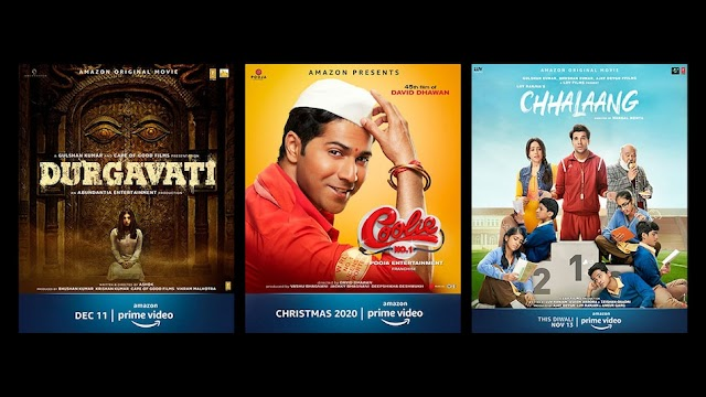 9 Big Movies to be Release on Amazon Prime Video, Varun Dhawan Coolie Number 1 is Also in The List