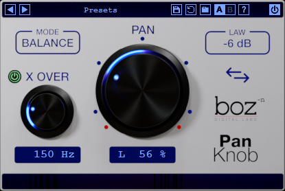 Boz Digital Labs - Pan Knob v1.0.1 Full version