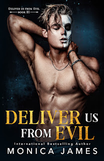 DELIVER US FROM EVIL by Monica James cover Kindle Crack
